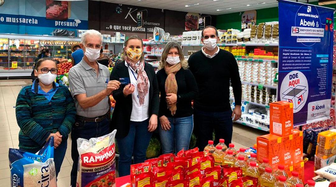 Campanha Doação Abevê & Hospital Beneficiente São Mateus