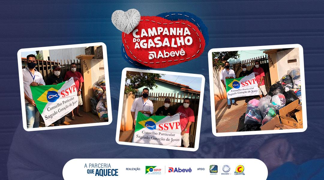 Campanha do Agasalho realiza doações para Aldeia Bororó
