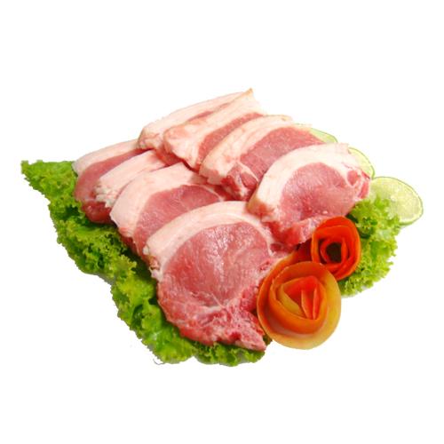 Carne Suína  Bisteca com Couro KG