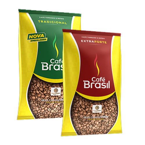 Café Almofada Brasil Tradicional / Extra Forte 500G