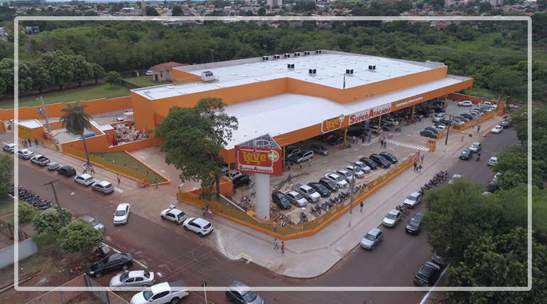 Loja Leve + SuperAtacado é inaugurada em Maracaju
