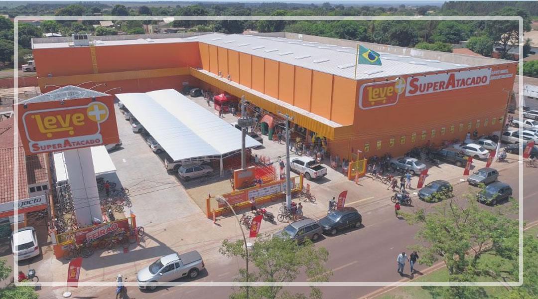 Loja Leve + SuperAtacado é inaugurada em Sidrolândia