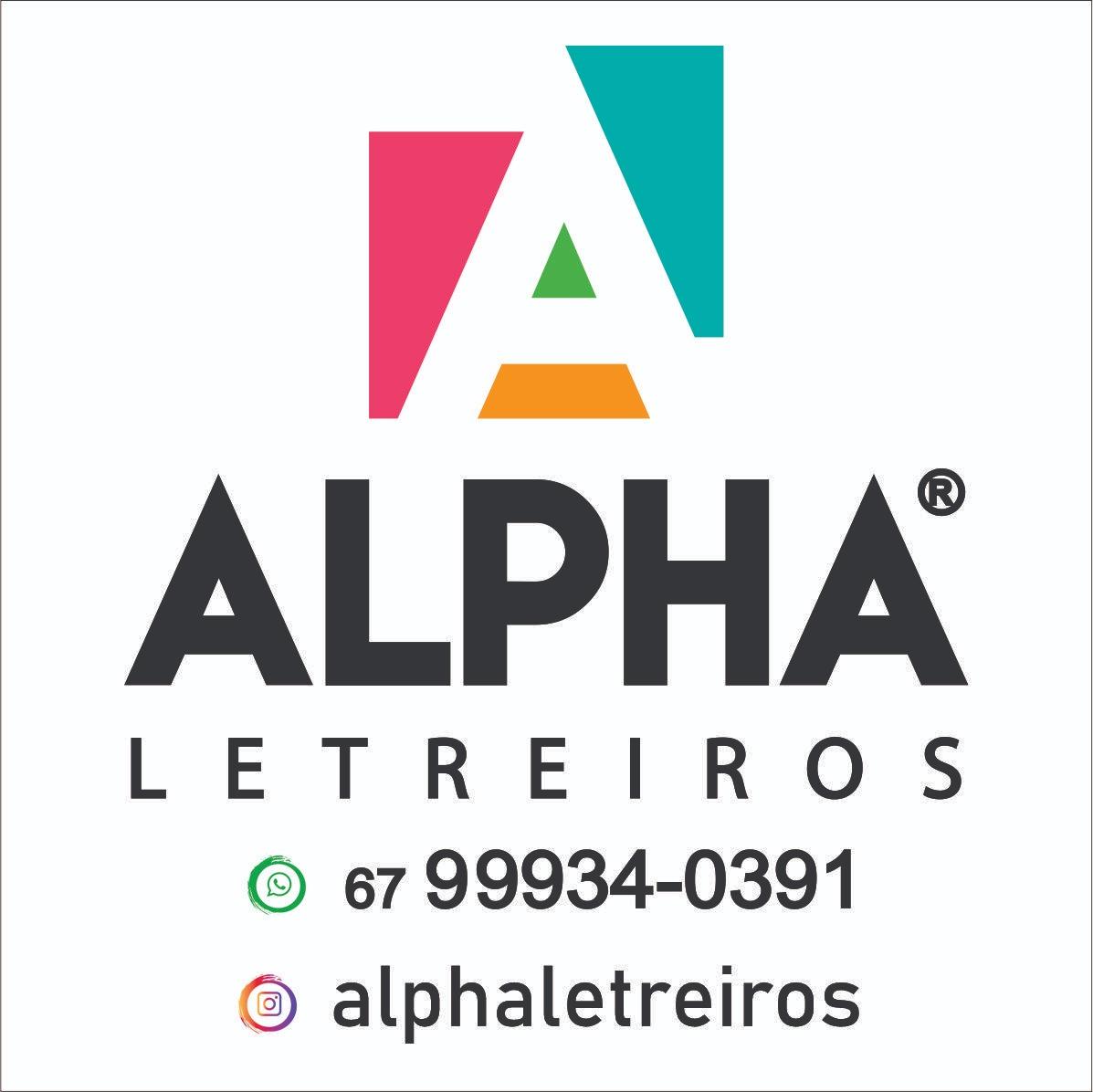 ALPHA LETREIROS